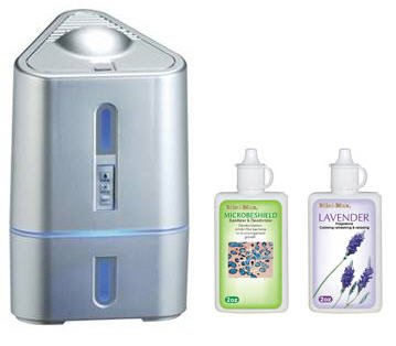 Thermax Mini Max 3 In 1 System-Purifier/Aromatizer/Humidifier (Silver)