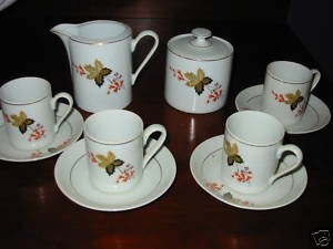 Demitasse Tea Set made in Brazil