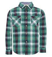 Pure Cotton Checked Shirt