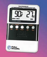 Fisher Scientific Traceable Relative Humidity/Temperature Meters, Meter only