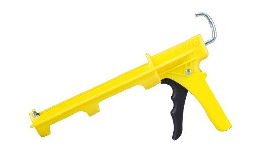 Dripless ETS1000 Contractor Grade Ergo Caulk Gun with 10-Ounce Cartridge