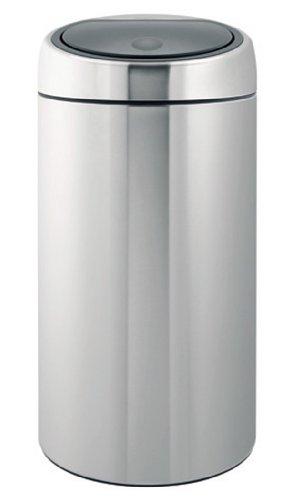 Brabantia Touch Bin Deluxe, 45 Litre, Matt Steel Fingerprint Proof