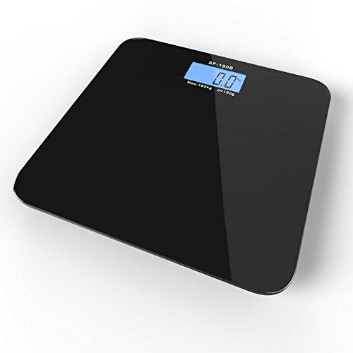 Digital Bathroom Scale by Royal - Premium High Precision Acc