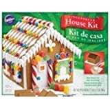 Wilton 2104-1914 Pre-Baked Gingerbread House Kit, Petite