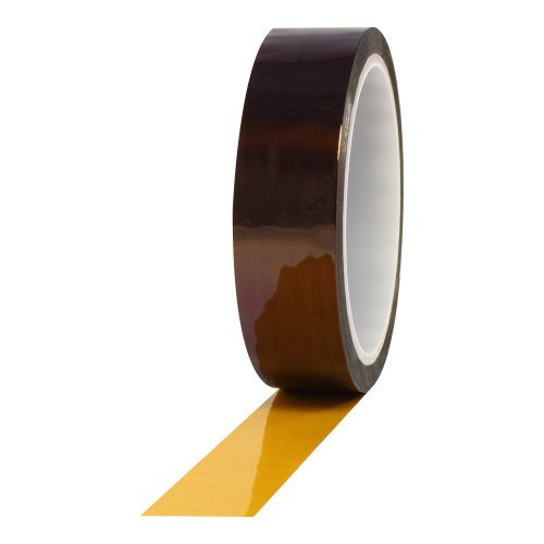 ProTapes Pro 950AS Anti-Static Polyimide Film Tape, 7500V Dielectric Strength, 36 yds Length x 5/8