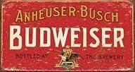 Budweiser Beer Weathered Distressed R…