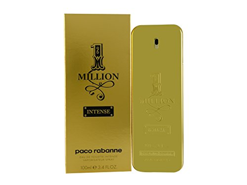 Paco Rabanne EDT Spray, 1 Million Intense, 3.4 Ounce