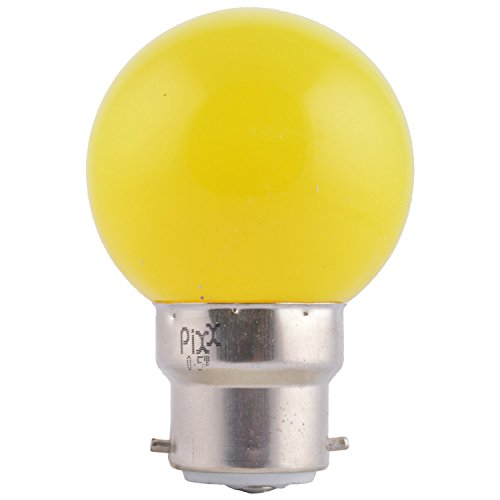 0.5W LED Night Lamp (Yellow, Pack of 6)