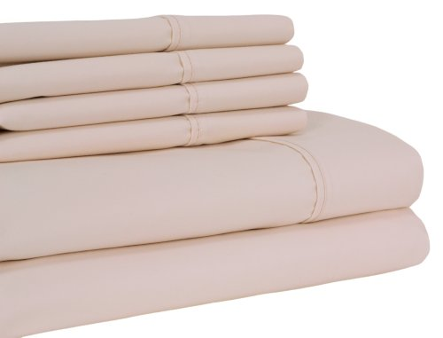 Elite Home Collection 6-Piece Lancaster Sheet Set