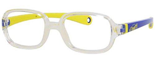 safilo-boys-sa00030gug-crystal-blue-yellow-rectangular-43-mm-prescription-frames