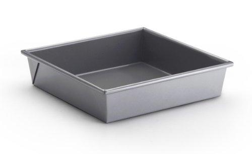 "Bonjour Bakeware Commercial Nonstick 9"" Square Cake Pan front-117995"