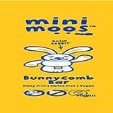 Bunnycomb Bar Moo Free - Single Mini Moo Honeycomb Organic Dairy Free Chocolate 25g