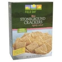 Field Day Stoneground Wheat Cracker, 8 Ounce -- 10 per case.
