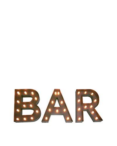 LO+DEMODA Pannello Decorativo Retroilluminato Bar
