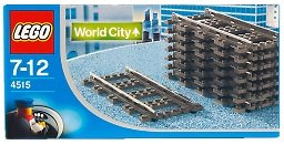 LEGO World City 4515: Straight Rails