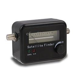 eForChina Satellite Finder Signal Search Meter for SAT Dish LNB Directv