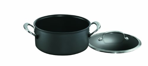 Cuisinart DSA44-22 Dishwasher Safe Hard-Anodized 4-Quart Saucepot with Cover
