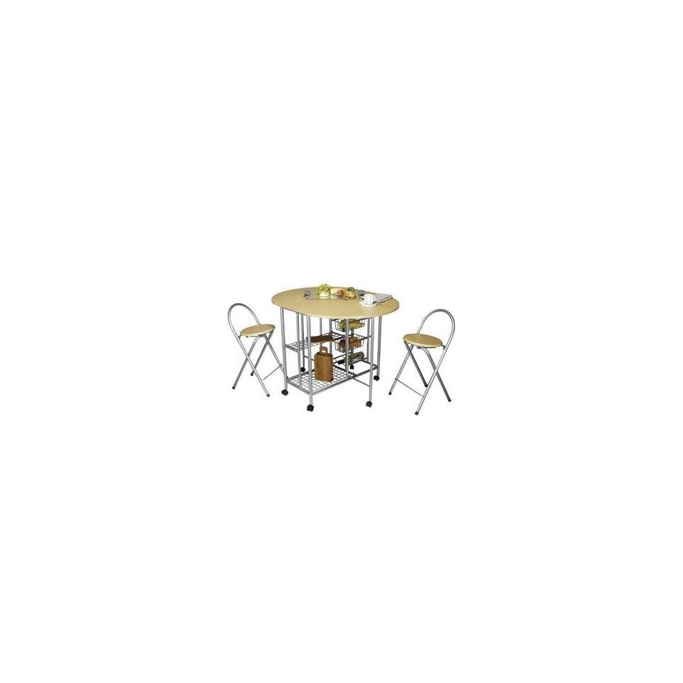 Küchenbar, klappbar mit 2 Stühlen Küchentisch Küche on PopScreen