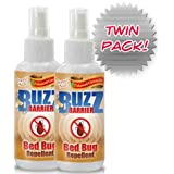 Bed Bug Spray (6 Bottles) - All Natural, Safe Highly Effective Formula - Protect Your Family From Bed Bugs & Dust Mites ~ BuzzEnder