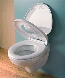 EuroShowers White Family Multi Toilet Seat 83010