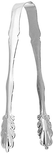 Elegance Silver 86242 Silver Plated Ice Tongs, 7