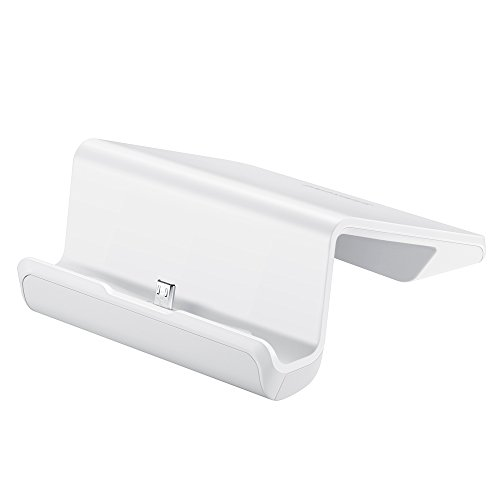 Samsung MicroUSB Universal (11-Pin MicroUSB) Desktop Docking Charging Station for Samsung Galaxy Tablets - White