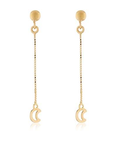 Gold & Diamond Pendientes