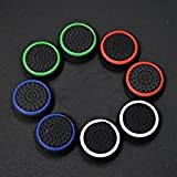Gotor 4 Pairs Thumb Grips Thumbstick Stick Joystick Cap Cover for PS4 PS3 PS2 Xbox 360 Xbox one Controller