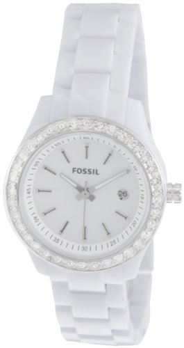 Fossil Fossil Stella Analog Mother Of Pearl Dial Women's Watch - ES2437 (White)