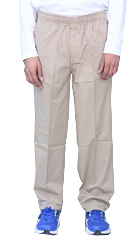 Romano-100-Cotton-Basic-Track-Pant-Lower-Beige