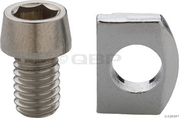 Buy Low Price Shimano Ultegra BR6700/6600-G Cable Fixing Bolt& Plate (Y8F598080)