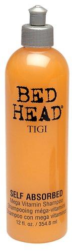 TIGI Bed Head Self Absorbed Mega Vitamin Shampoo, 12 Ounce