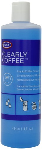 Urnex Clearly Coffee Liquid Coffee Pot Cleaner, 14-Ounce