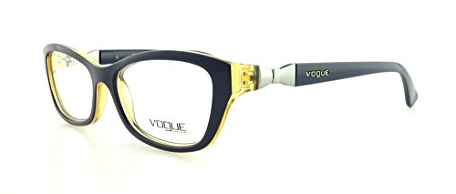 Vogue Vo2890 Eyeglasses-2232 Top Blue/Light Brown Transparent-51Mm