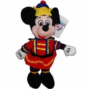 Mickey Nutcracker - Disney Mini Bean Bag Plush