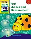 img - for FIRST SHAPES & MEASUREMENT : EXCEL MATHS EARLY SKILLS AGES 3-4 BOOK 3 OF 10 book / textbook / text book