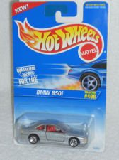 Hot Wheels Silver Bmw 850i 498 1995 - 1