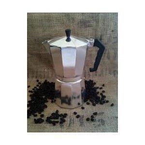 HDS Trading Espresso Maker 12 Cups Aluminum Finish - HDS Trading EM00209