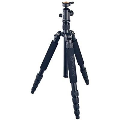 Giottos VGR9255-SC Aluminum Tripod/Monopod with Quick Release Ball Head Maximum Height 62.6-Inch