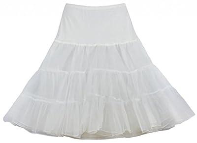 Eyekepper 50s Vintage Rockabilly Petticoat Net Tutu Underskirt