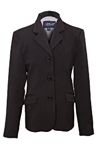 EOUS Blackpool Hunt Coat - Adult (Solid Black, 18)
