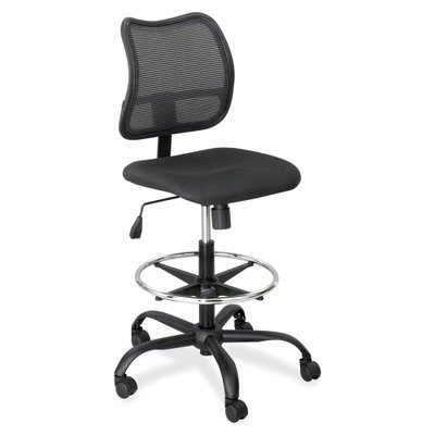 Safco 3395BL Extended Height Chair, Mesh Back, 25 in.x25 in.