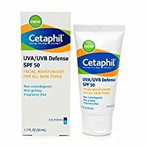 CETAPHIL UVA/UVB DEFENSE SPF50 1.7OZ