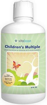 Vitabase Children'S Multiple Liquid For Growing Bodies 32 Oz Bottle.