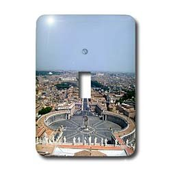 Vacation Spots - The Vatican Square - Light Switch Covers - single toggle switch