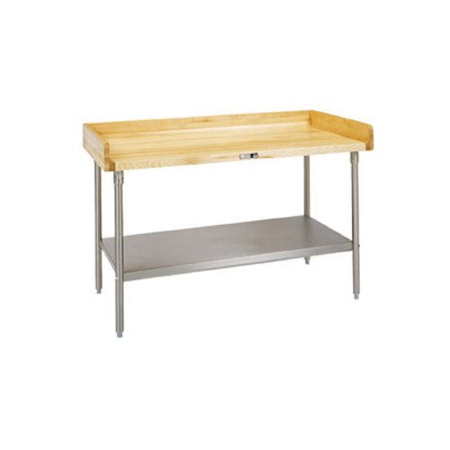 John Boos Dns01 Maple Top Work Table With 4 Quot Riser