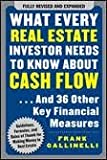 img - for What Every Real Estate Investor Needs to Know About Cash Flow... And 36 Other Key Financial Measures 2nd (second) edition book / textbook / text book