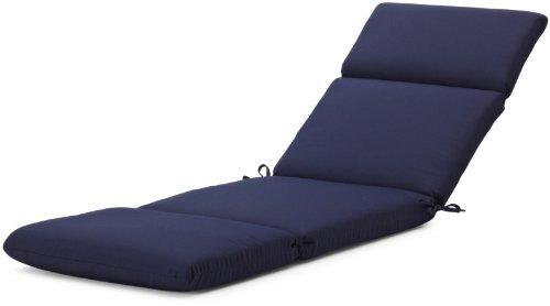 Strathwood basics hardwood chaise lounge sunbrella cushion for Buy chaise lounge cushion