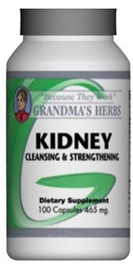 Kidney - Herbal Supplement Formulated To Cleanse The Kidney - 100 Capsules