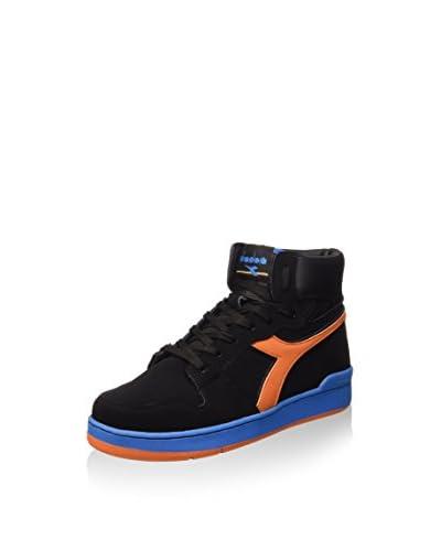 Diadora Zapatillas abotinadas Basket 80 N Negro